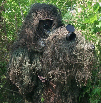 Tracker Ghillie Poncho