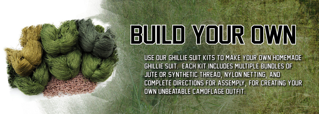 Build your own Ghillie Suit