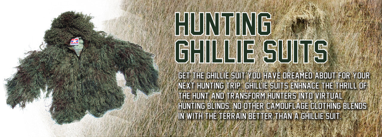 Ghillie Suits for Hunting