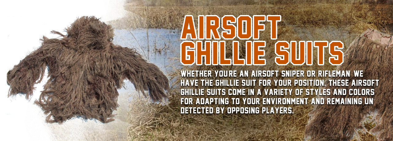 Airsoft Ghllie Suits