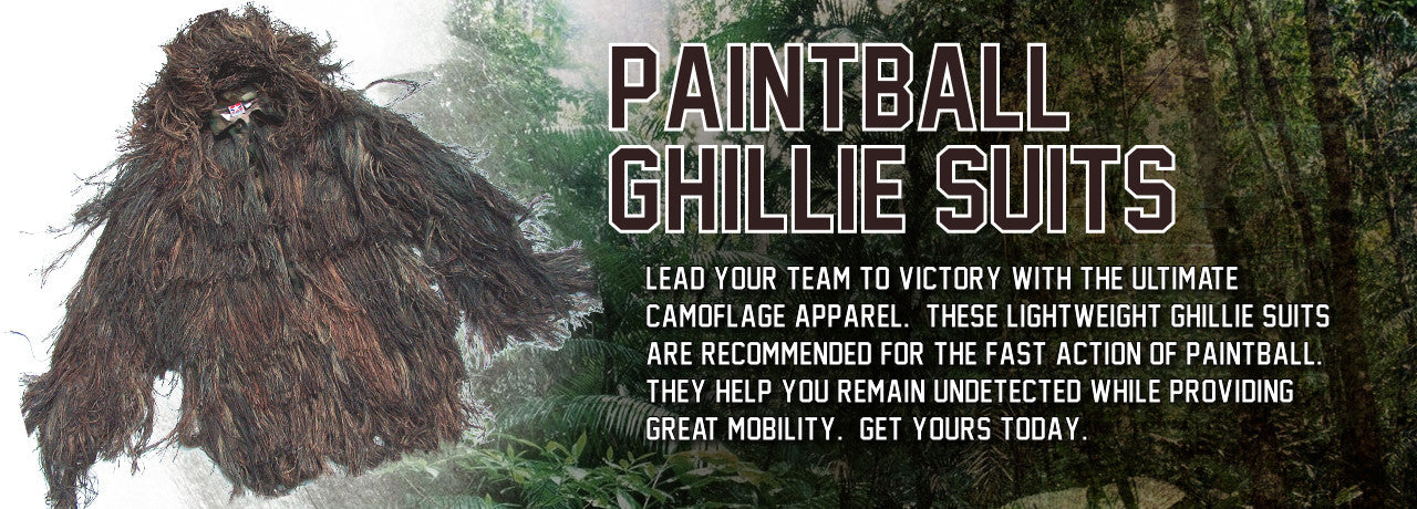 Paintball Ghillie Suits