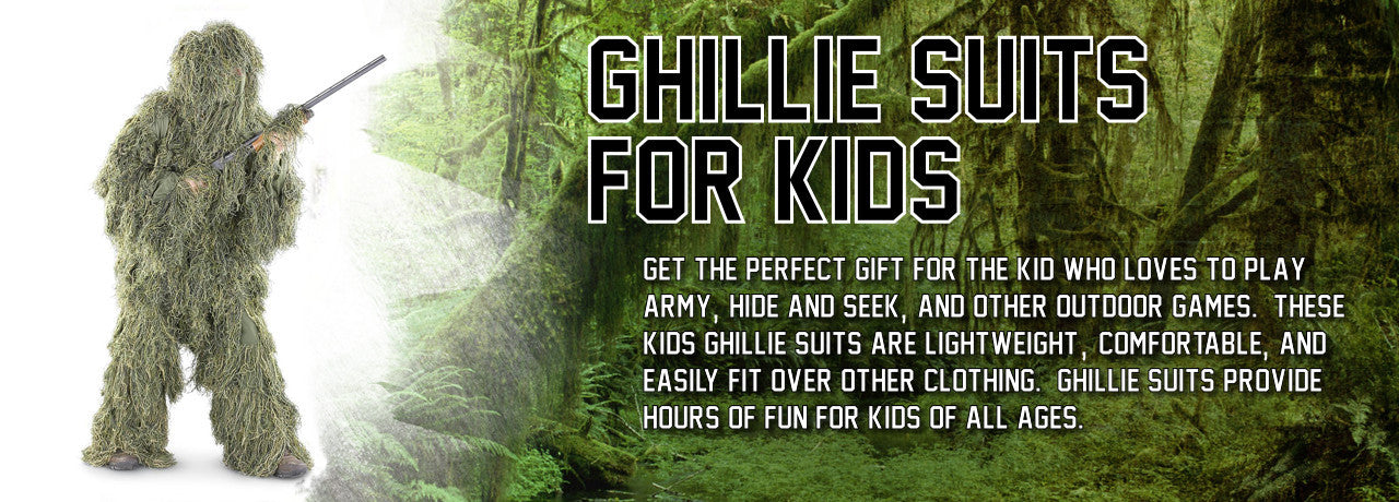Ghillie Suits for Kids