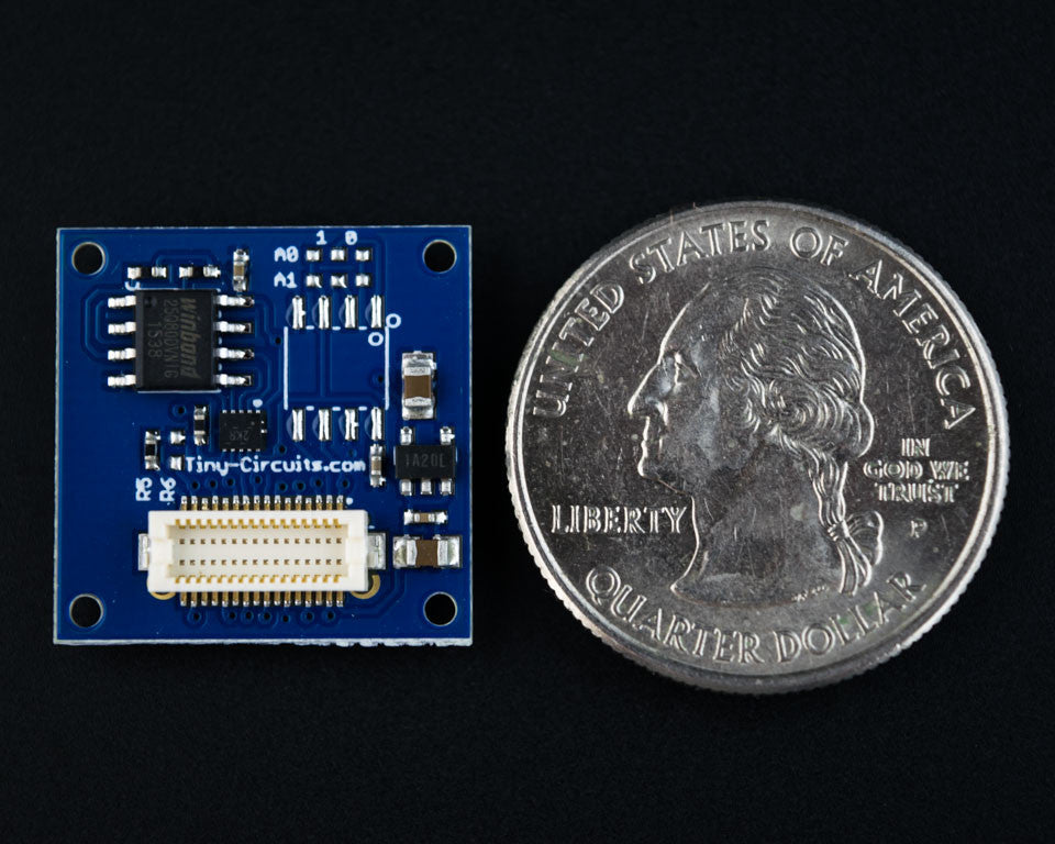 New Product - Flash Memory TinyShield
