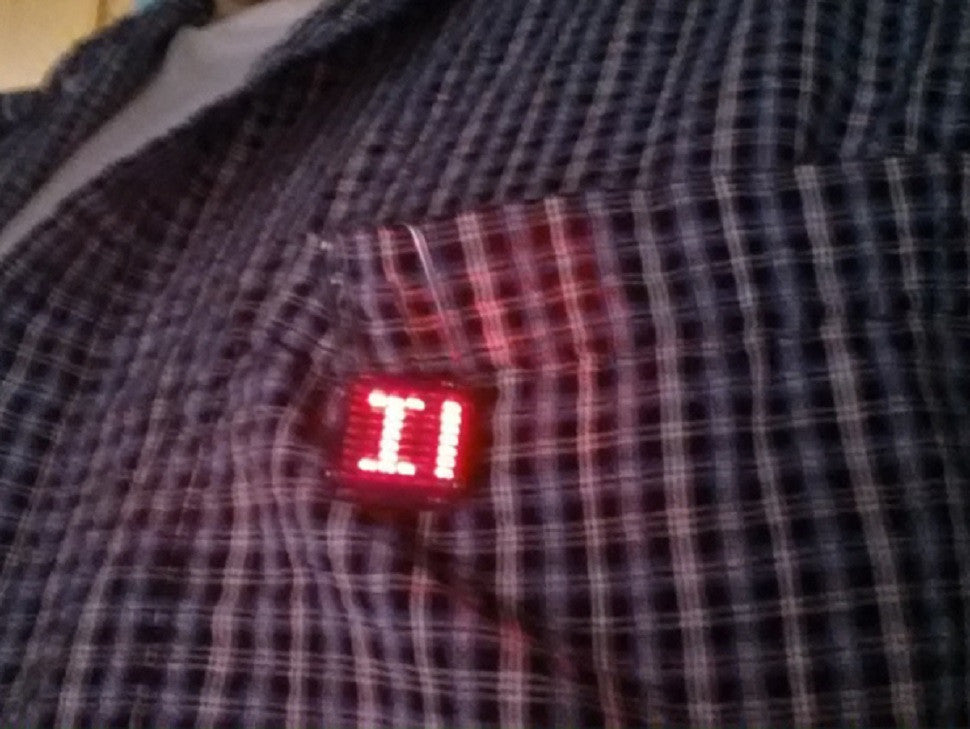 Using the Matrix LED TinyShield Tutorial