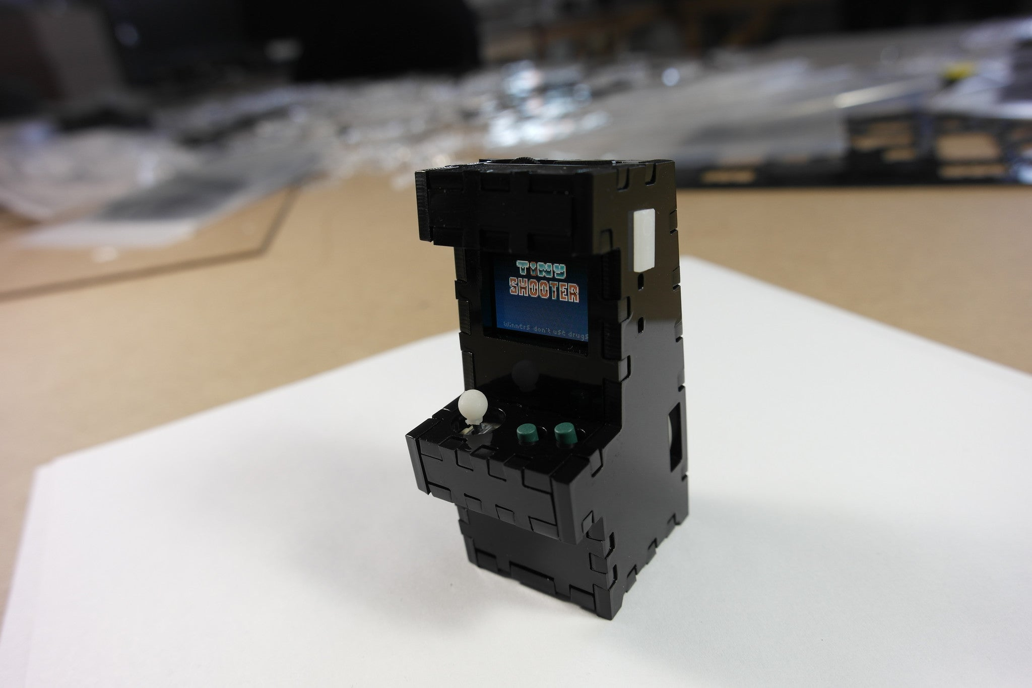 Tiny Arcade Assembly Instructions - Kickstarter Version