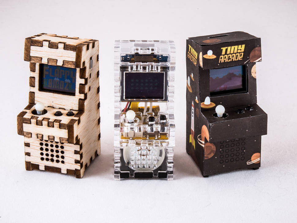 Worlds Smallest Arcade Cabinet - TinyCircuits