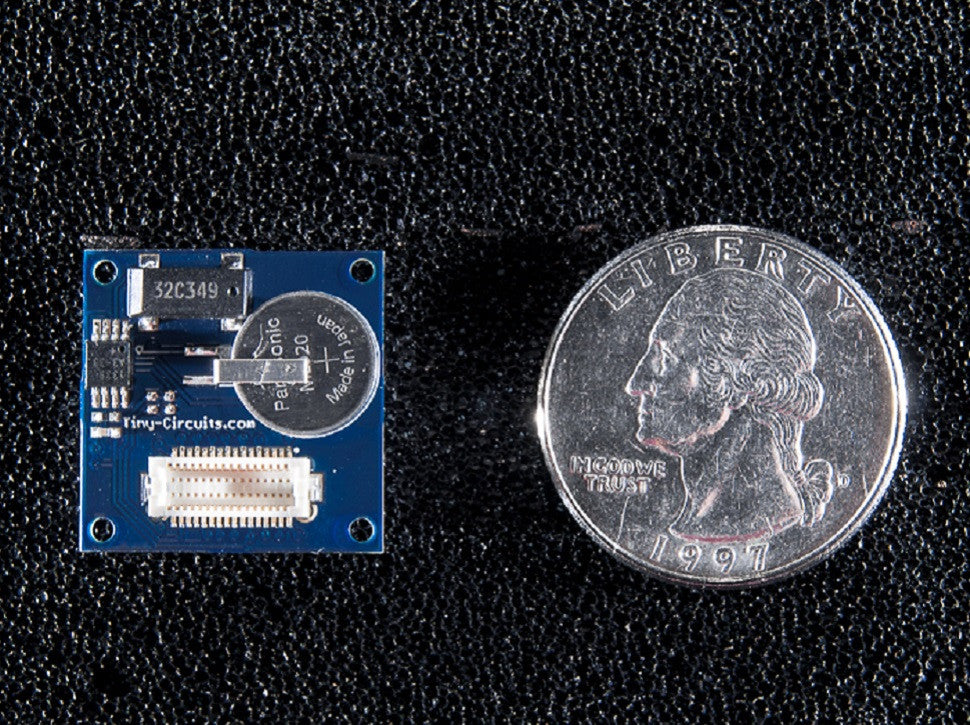 Using the Real-Time Clock TinyShield