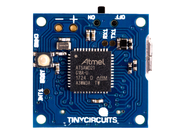 Using the TinyZero Accelerometer