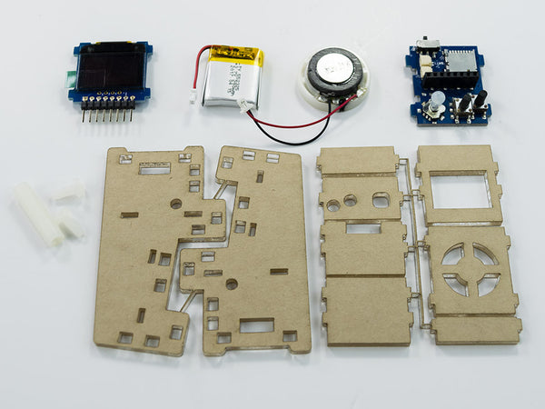 New Tiny Arcade - Assembly Instructions (With Rev5 Boards)