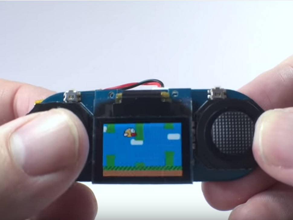 Tiny Working Handheld Console