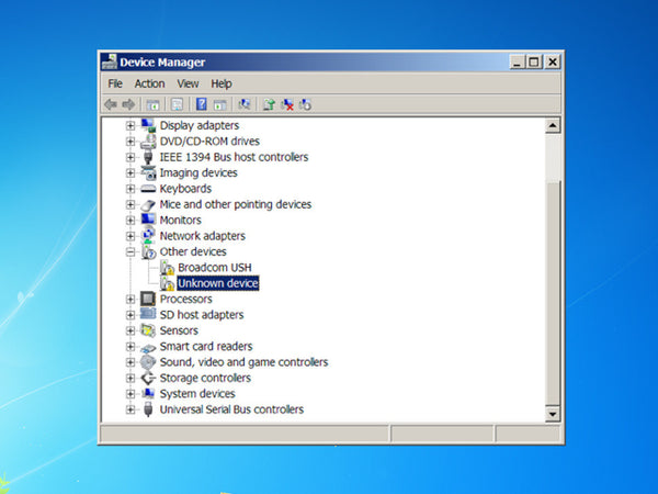 TinyScreen+ Windows 7/8 Driver Installation