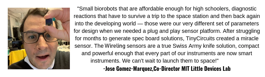 Jose Gomez MIT Little Devices Quote