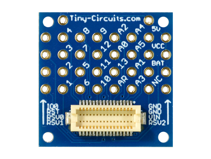 TinyShield Proto Board with top connector