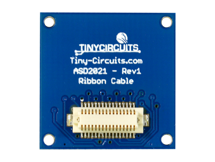 Ribbon Cable Extender Shield back view