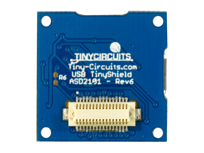 USB Shield back view