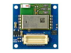 Front view of the Bluetooth Low Energy TinyShield (ST) ASD2116-R