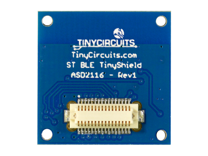 Bluetooth Low Energy Shield (ST) back view