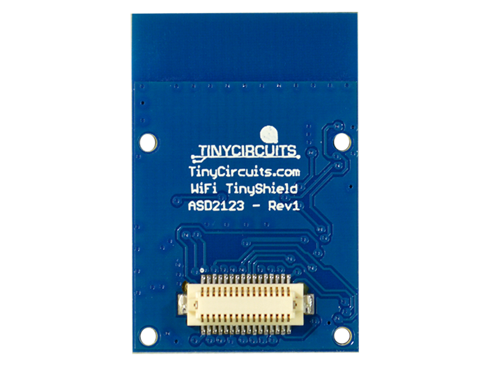 WiFi Shield (ATWINC1500) back view