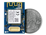 WiFi Shield (ATWINC1500)  quarter size comparison