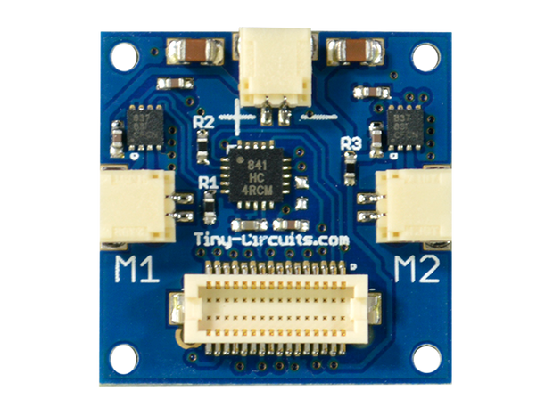 Dual Motor Shield with JST motor connector