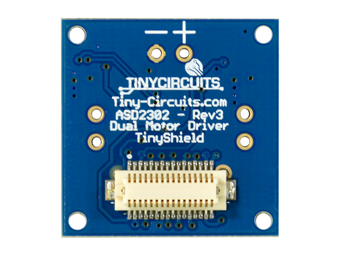 Dual Motor Shield back view