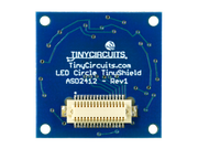 Circle Edge LED TinyShield - TinyCircuits