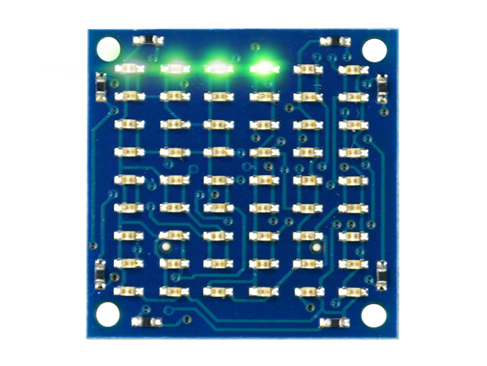 Matrix LED Shield Green Light
