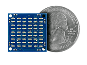 Matrix LED Shield quarter size comparison
