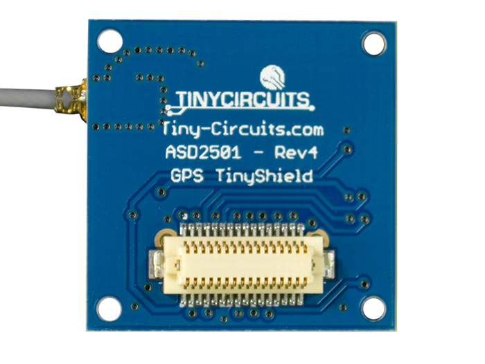GPS Shield back view