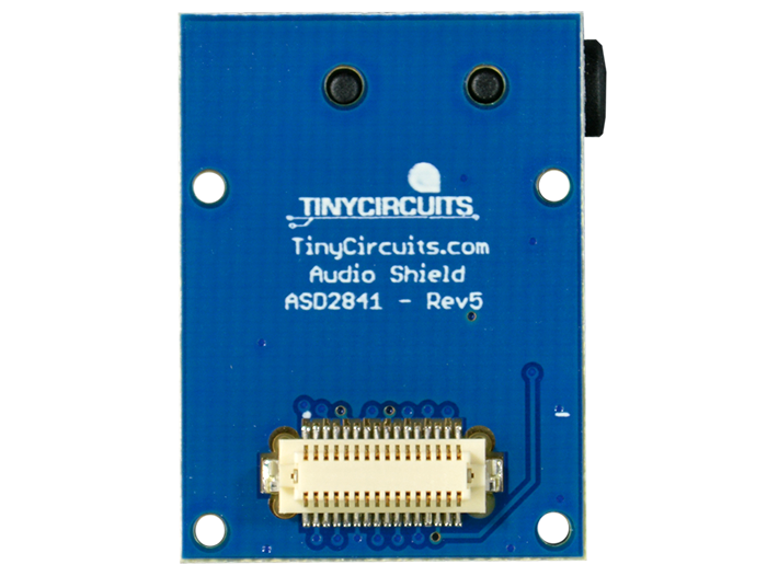Audio Shield back view