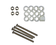 TinyDuino Mounting Hardware Kit 12 spacers, 4 screws, 4 nuts, ASH1002