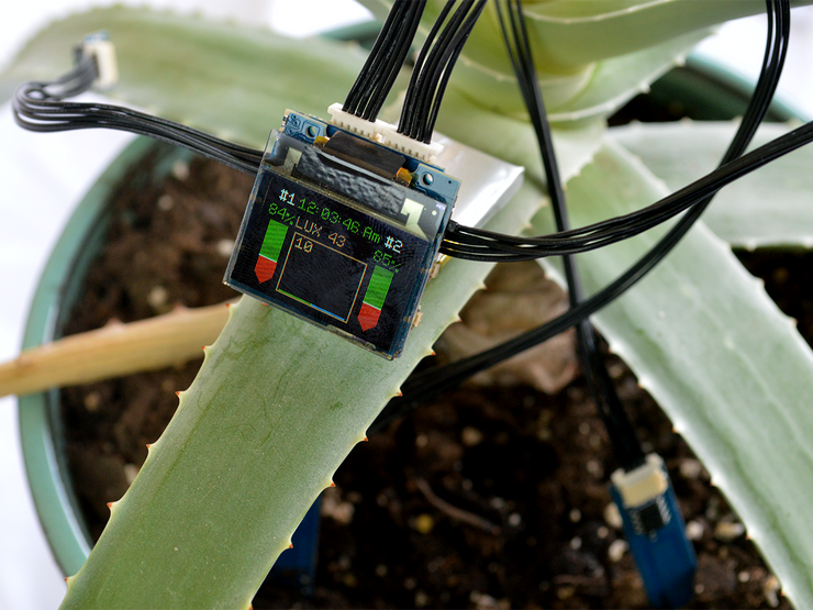Plant Monitor Kit by TinyCircuits