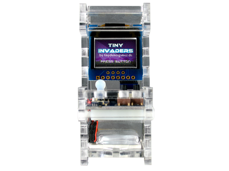 Tiny Arcade DIY Kit front view