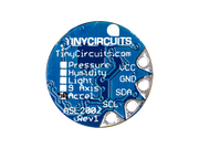 Back of TinyLily Accelerometer