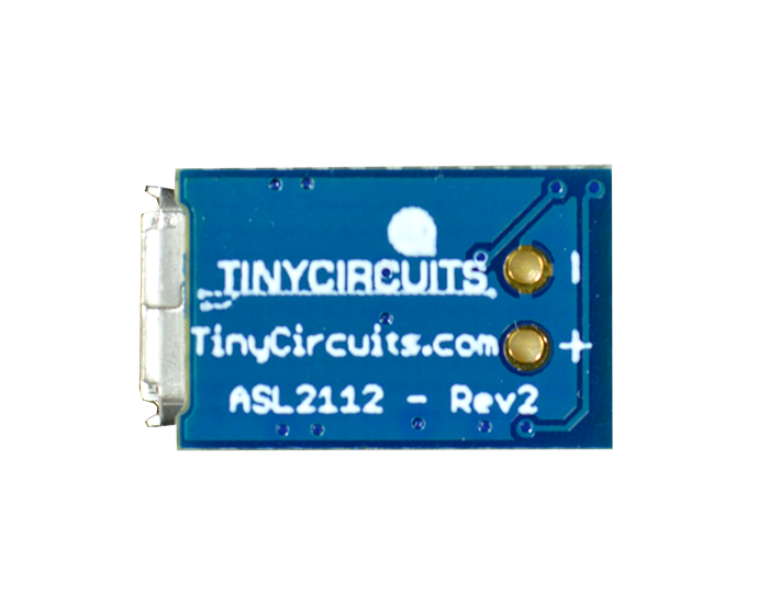 Tiny Battery Charger - TinyCircuits