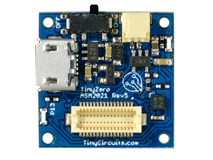 TinyZero Processor Board with accelerometer