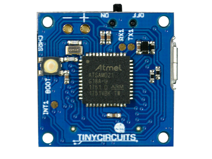 TinyZero Processor Board back view