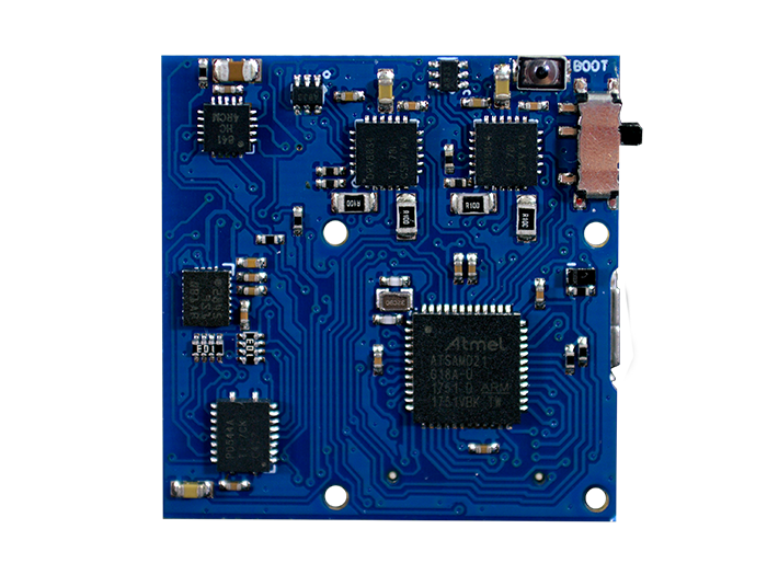 RobotZero Processor back view