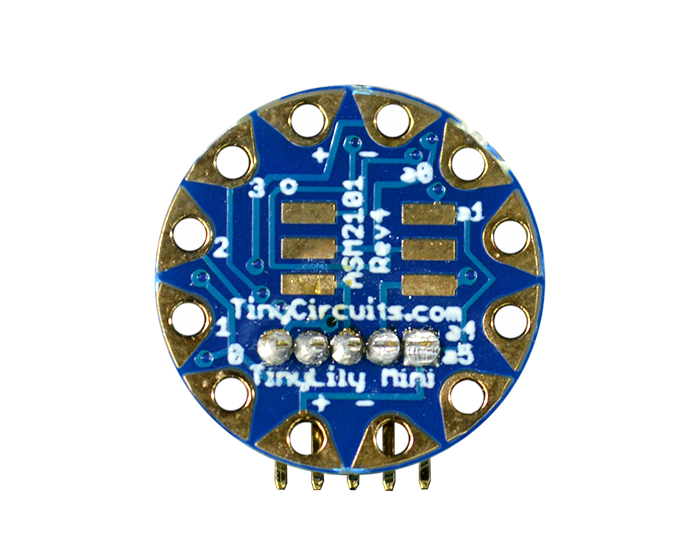 TinyLily Mini Processor back view
