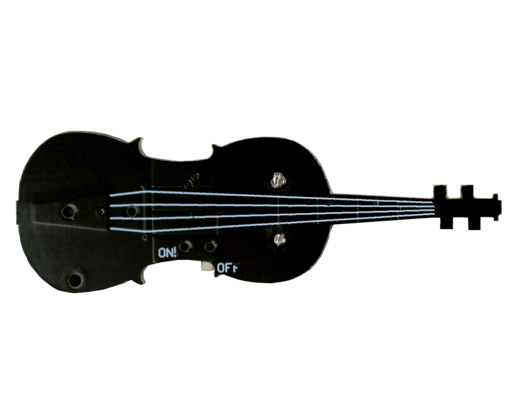 TinyViolin top view