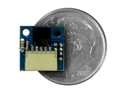 IR Receiver Wireling compared to a dime