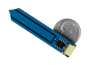 Moisture Sensor Wireling compared to a dime