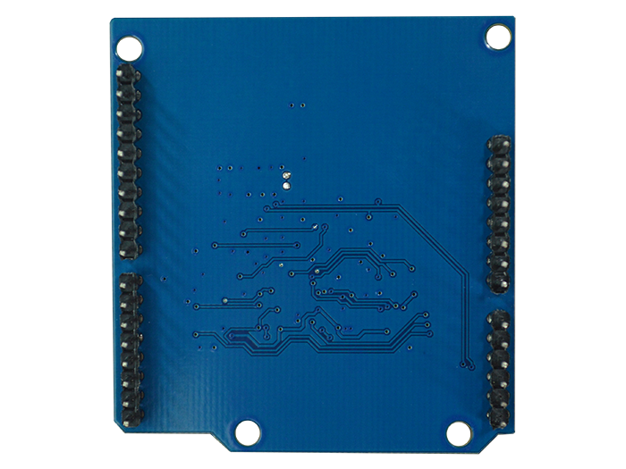Wireling Arduino Shield back view