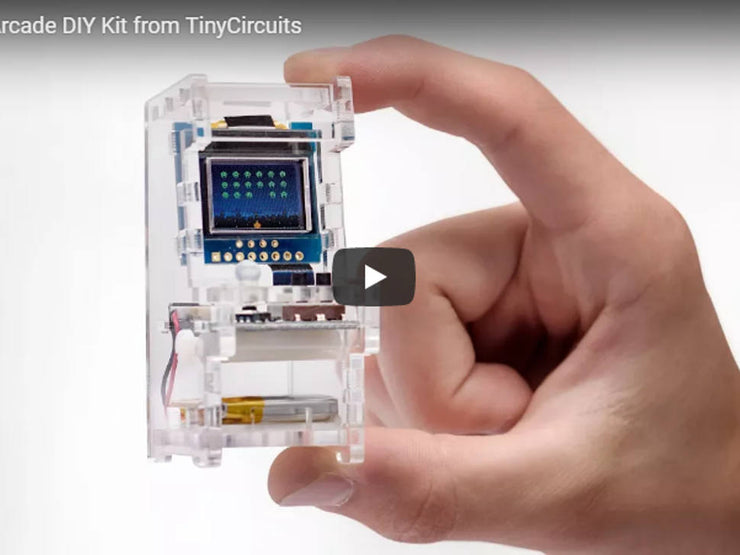 Tiny Arcade DIY Kit - Retail - TinyCircuits