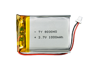 Lithium Ion Polymer Battery 3.7V 1000mAh