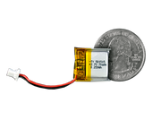 Lithium Ion Polymer Battery - 3.7V 70mAh - TinyCircuits