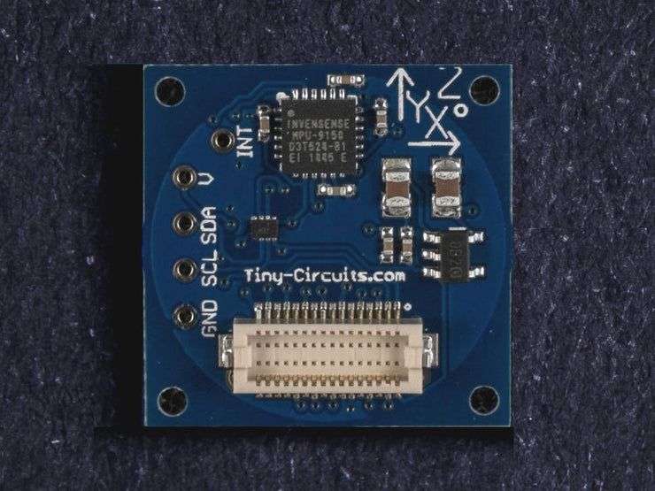 9-Axis (MPU9150) IMU TinyShield (discontinued) - TinyCircuits