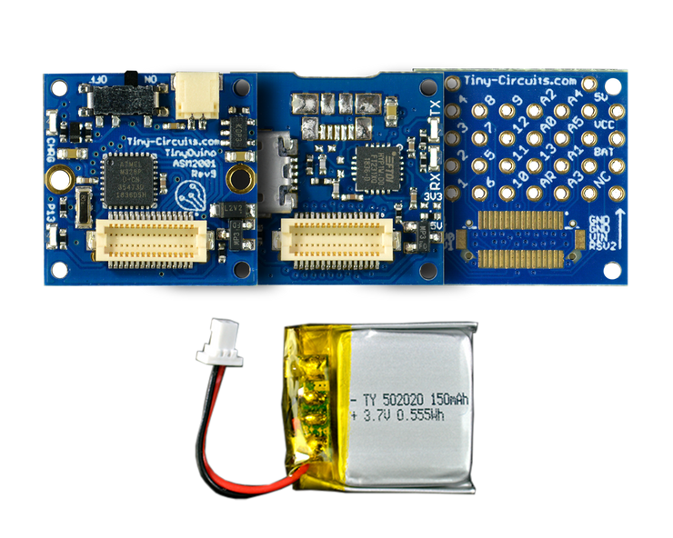 TinyDuino Basic Kit - Lithium Version - TinyCircuits