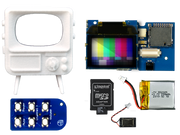 TinyTV DIY Kit Assortment of parts