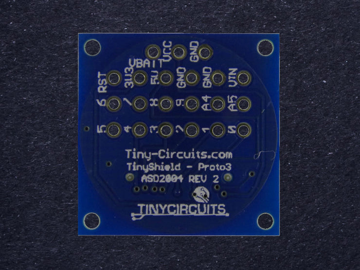 Proto Board 3 TinyShield (discontinued) - TinyCircuits